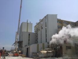 Bandırma Eti Maden Boraks Fabrikası İnşaatı